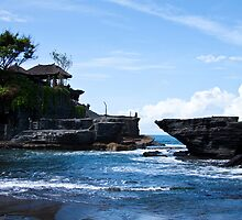 Tanah Lot, Bali, Indonesia by Valerie Loho