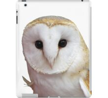 Curious Barn Owl  iPad Case/Skin