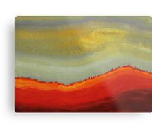 Canyon Outlandish original painting Metal Print