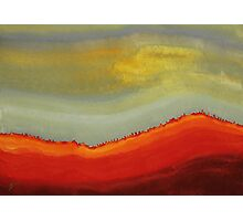 Canyon Outlandish original painting Photographic Print