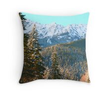 """Spring Snow Storm"" Throw Pillow"