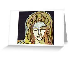 pieta Greeting Card