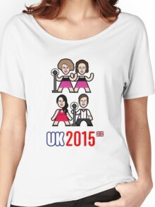 UK 2015 Women's Relaxed Fit T-Shirt