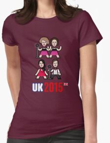 UK 2015 Womens Fitted T-Shirt