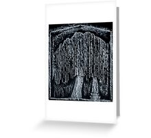 The Weeping Willow at Death Greeting Card
