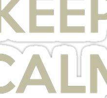 Keep Calm and Clutch Sticker