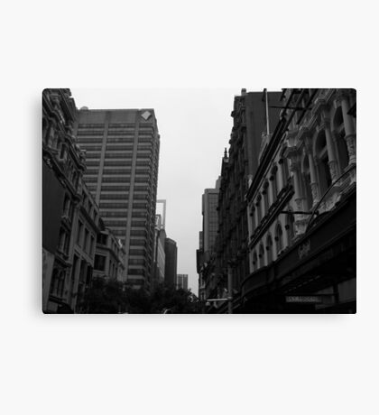 In the Bleak Mid-Winter. Canvas Print
