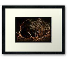 """""""Forest's Edge"""" - Fractal Art Framed Print"""