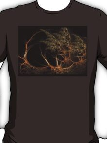 """Forest's Edge"" - Fractal Art T-Shirt"