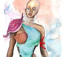 Sea Woman by xandecamanho