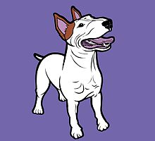 Happy Bull Terrier  by Sookiesooker