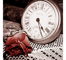 Time Passes Photographic Print