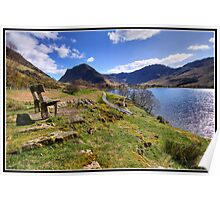 Buttermere views Poster