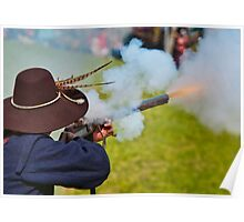 Medieval Magic - Musket Drill Poster