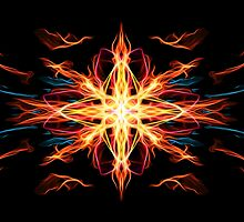 Energetic Geometry- Fire Element by Leah McNeir