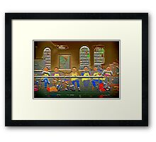 Remind You Of Anything? Framed Print