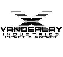 Vanderlay industries black print by Peter McClure