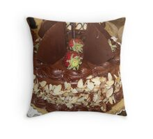 Janeymac's Cake Throw Pillow
