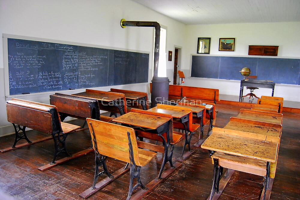 Historic One-Room School House by Catherine Sherman