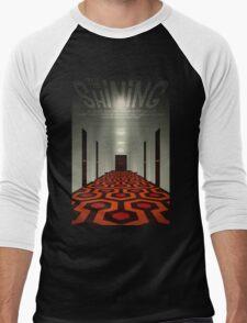 The Shining alternative movie poster Men's Baseball ¾ T-Shirt
