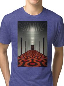The Shining alternative movie poster Tri-blend T-Shirt