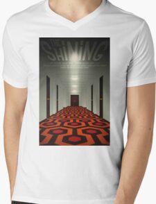 The Shining alternative movie poster Mens V-Neck T-Shirt