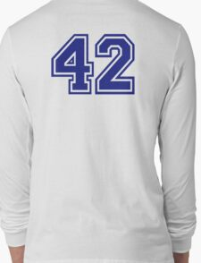 Number 42 Long Sleeve T-Shirt