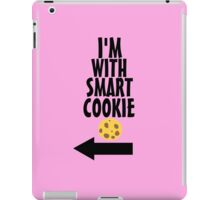 I'm With Smart Cookie iPad Case/Skin