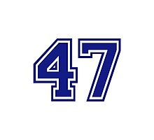 Number 47 Photographic Print