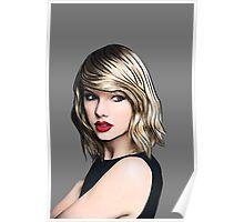 Taylor Swift Black Poster