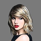 Taylor Swift Black by tlau