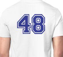 Number 48 Unisex T-Shirt