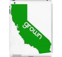 CA grown iPad Case/Skin