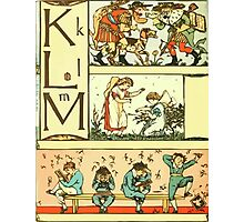 The Sleeping Beauty Picture Book Plate 010 - The Baby's Own Alphabet - Kk, Ll, Mm Photographic Print