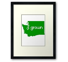 WA Grown Framed Print