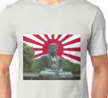 Land of the Rising Sun-Kamakura Buddha  Unisex T-Shirt