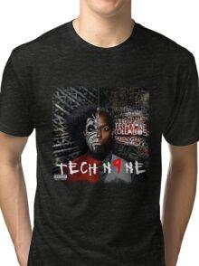 TECH COLLABOS SICKOLOGY N9NE Tri-blend T-Shirt