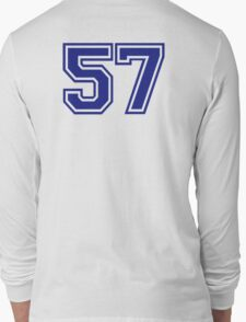 Number 57 Long Sleeve T-Shirt