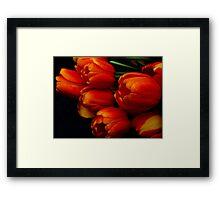 Les Fleurs...... Framed Print