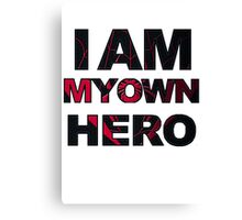 My Own Hero - Miles Morales Canvas Print