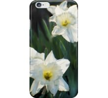 7 ABSTRACT DAFFODILS iPhone Case/Skin