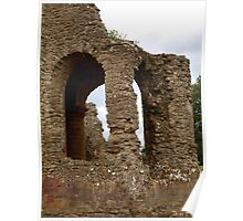 Sherborne Old Castle Arches Poster