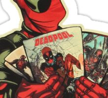 Deadpool Issues Sticker