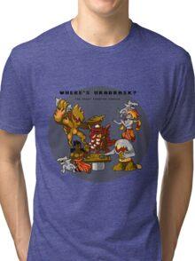 Where's Urabrask? (Round) Tri-blend T-Shirt