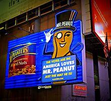 Mr. Peanut by Steve Hunter