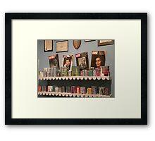a tribute to Elijah Pierce Framed Print