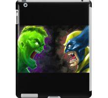 Hulk Vs Wolverine iPad Case/Skin