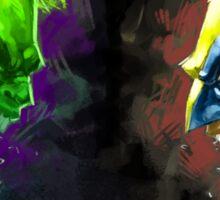 Hulk Vs Wolverine Sticker