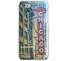 Chicago Through the Window iPhone Case/Skin