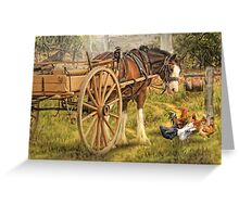 A Little Bit Country Greeting Card